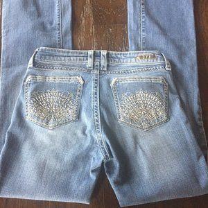Rock 47 by Wrangler Boot Cut Jeans.  Long.